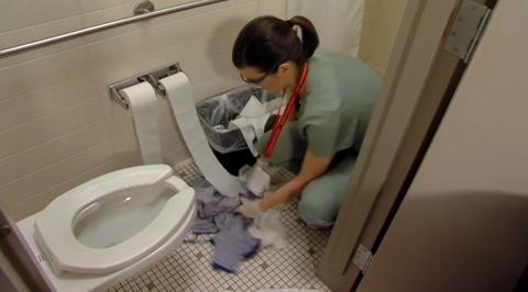Cleaning a Patient Occupied Room Video