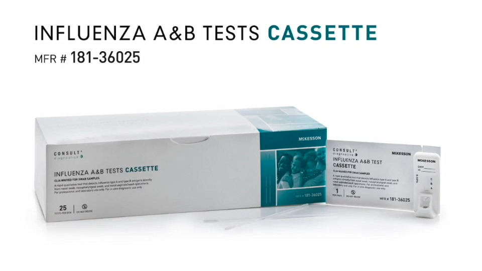 McKesson Consult Flu Test Kits Video