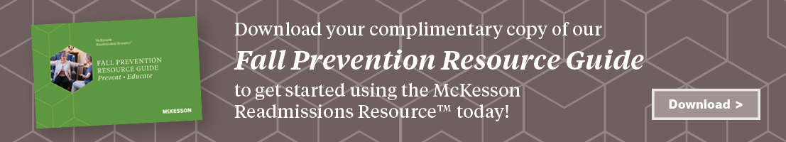 Banner ad: Download your complimentary copy of our Fall Prevention Resource Guide