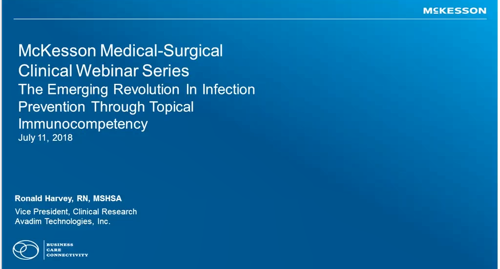 Clinical Connection: Emerging Revolution in Infection Prevention Video