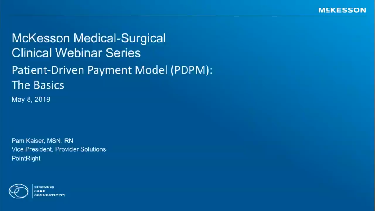 Clinical Connection: Patient-Driven Payment Model