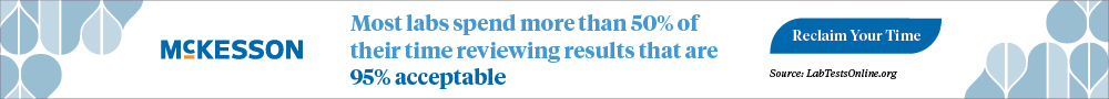McKesson Laboratory Resources Banner Ad