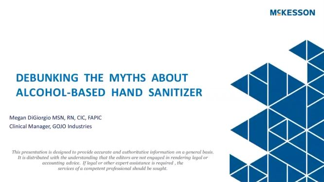 Debunking the Myths About Alcohol-Based Hand Sanitizer