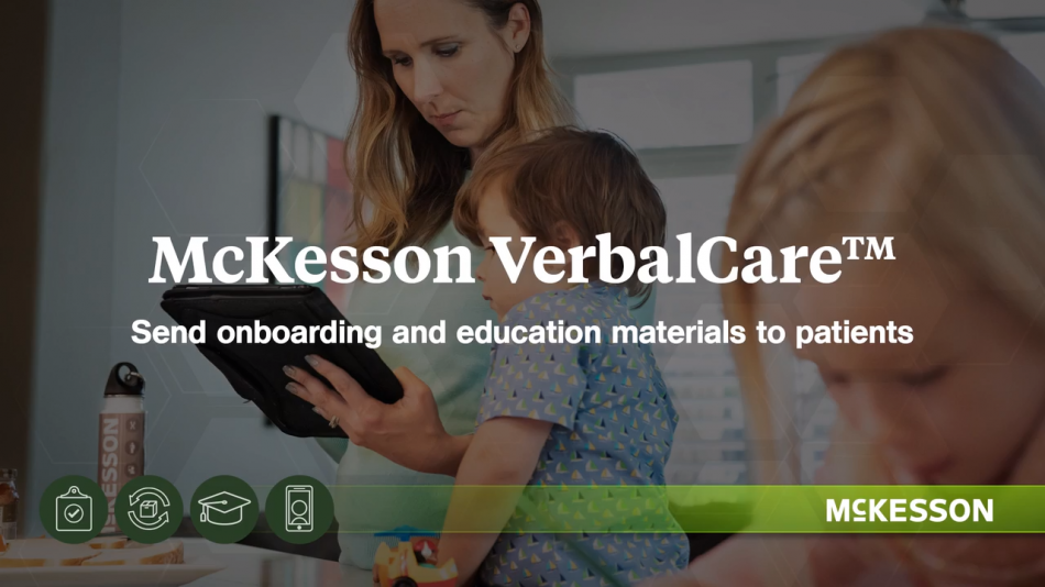 McKesson VerbalCare and Patient Education