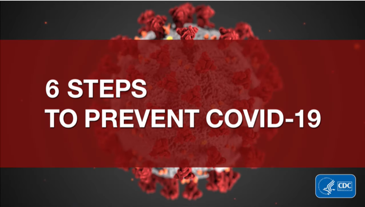 6 Steps to Prevent COVID-19