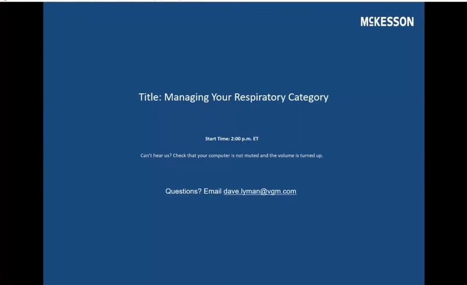 Managing Your Respiratory Product Category