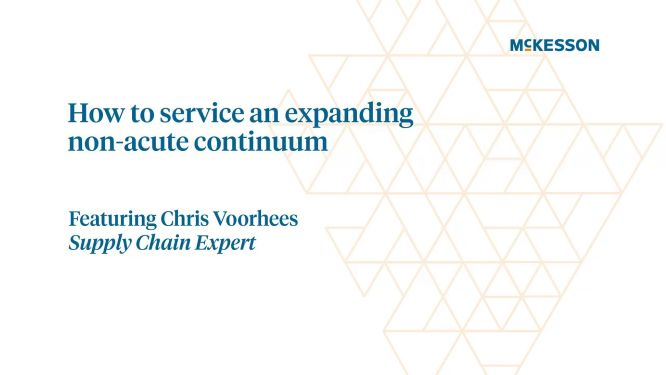 How to service an expanding non-acute continuum