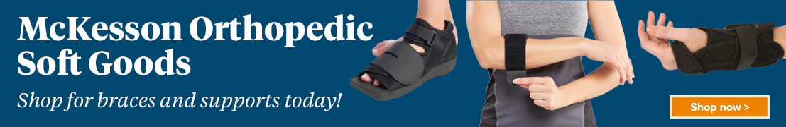 McKesson orthopedic soft goods - shop for braces and supports today! Shop now.