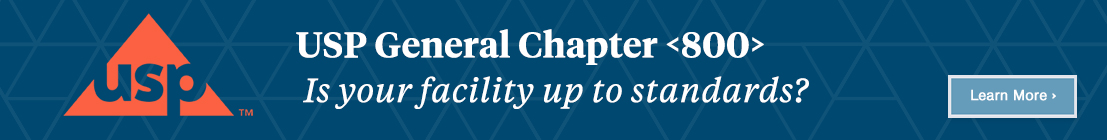 USP General Chapter 800: Is your facility up to standards? Learn more.