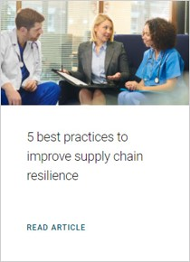 5 best practices to improve supply chain resilience. Read article