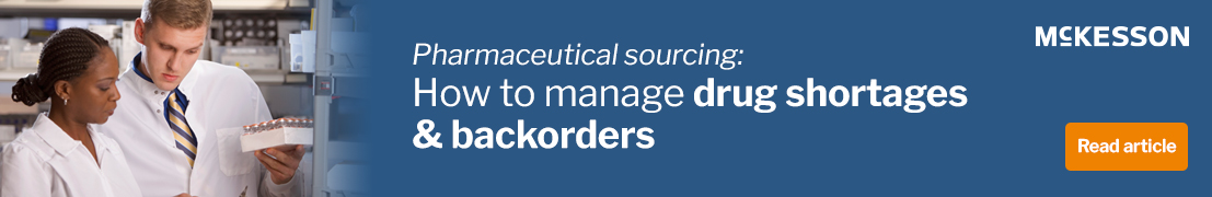Pharmaceutical sourcing: How to manage drug shortages & backorders. Read article